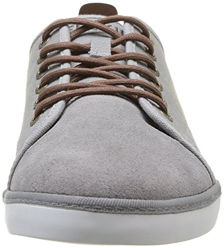 Redskins Sidra, Baskets mode homme Gris (Gris/Cognac)