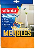 Vileda 126588 Microfaser Staubtuch - entfernt Staub ohne Aufwirbeln - 3er Pack