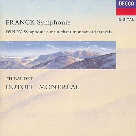 Cesar Franck Symphonie - Franck: Symphony in d Minor/d'Indy: Symphonie Sur