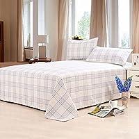 Preisvergleich für Coole Matratze Leinenmatte Dreiteilige Doppelwäsche Einzelschlafzimmer Schlafsaal Klimaanlage Matratze 1,8 m / 2,0 m Bett Coole Bambusmatte (Farbe : A2, größe : 1.5 m/1.8 m Bed)