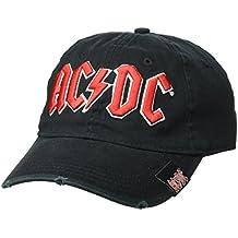 AC/DC Hombre Gorra De Béisbol, color negro, talla única
