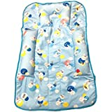 Triple B Baby Bed/Baby Bedding/Baby Carrier/Sleeping Bag/New Born/Just Born/Fix Pillow Mat (Blue)