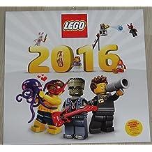 LEGO Calendario 2016 NUEVO con 3 Vales Calendario de pared
