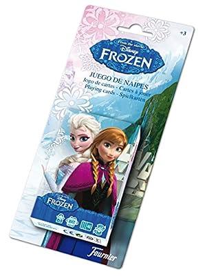 Disney Frozen Baraja de Cartas Infantil, Color Negro (Naipes Heraclio Fournier 1028179) de Naipes Heraclio Fournier