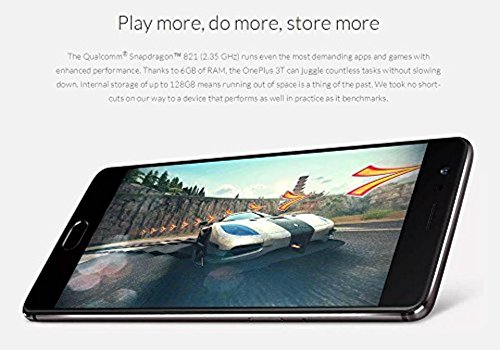 Preisvergleich Produktbild SMARTPHONE ONEPLUS 3T 5,5''FHD QUADCORE 6GB/64GB 4G 16/16MPX A7.0 DUALSIM NEGRO/GUNMETAL