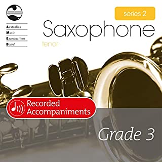 AMEB Tenor Saxophone Series 2 Grade 3 (Piano Accompaniments)