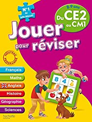Jouer pour réviser - Du CE2 au CM1 8-9 ans - Cahier de vacances