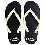 #1: SCATCHITE Men's Black Flip-Flops & House Slippers