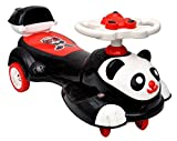#10: Toyshine Big Panda Magic Car, Ride-on Toy, White Black