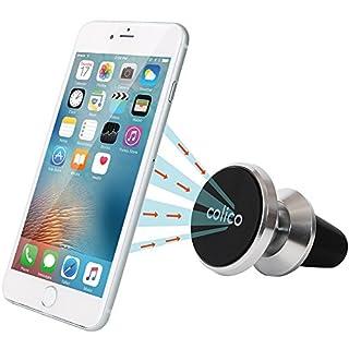 COLICO Magnetische Handyhalterung Magnethalterung Handy Auto Handyhalter Magnet KFZ Halterung für Smartphones Mini Tablets Navigationsgeräte(Upgraded 360 Grad Schwenkkugel)