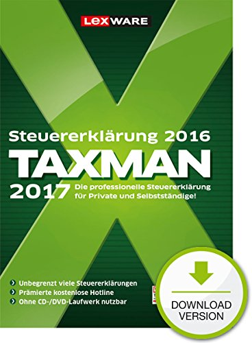 Lexware Taxman 2017 - Standard
