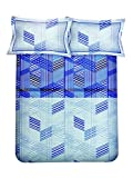 Bombay Dyeing Eternia 220 TC Cotton King Size Bedsheet With 2 Pillow Covers