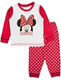 Disney Minnie Mouse Bow Baby Girls Pyjamas