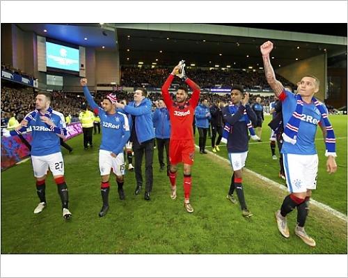 photographic-print-of-soccer-ladbrokes-championship-rangers-v-dumbarton-ibrox-stadium