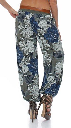 Collection Italy - Pantalon - Chaussures à talons - Femme Multicolore multicolore taille unique Olive
