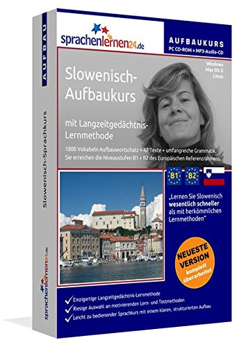 Slowenisch-Aufbaukurs: Lernstufen B1+B2. Lernsoftware auf CD-ROM + MP3-Audio-CD für...