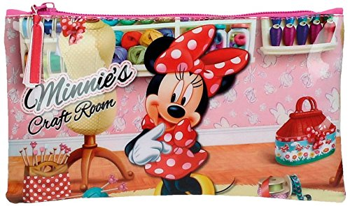 Disney Craft Room Neceser de Viaje, 0.26 litros, Color Rosa