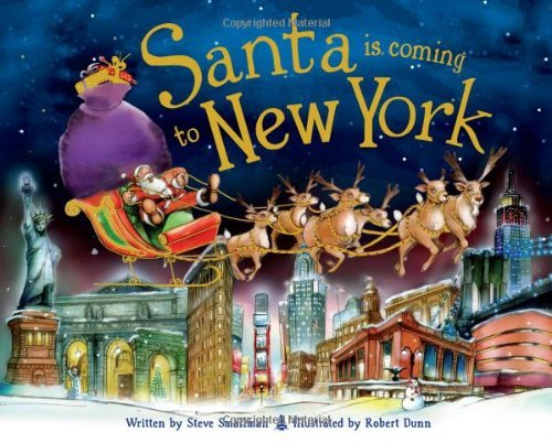 Santa Is Coming to New York by Steve Smallman (1-Oct-2012) Hardcover