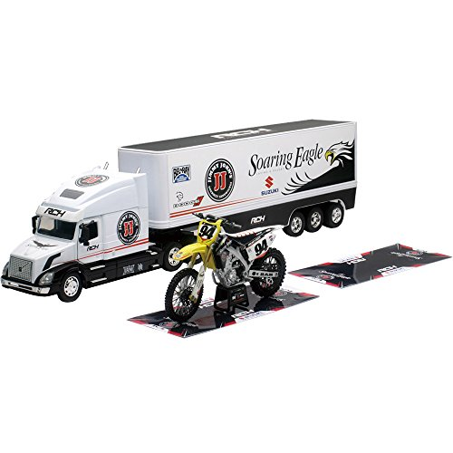 New Ray - 14295 - Camion - RCH Team Camion 2015 - Volvo VN-780 avec Moto - Echelle 1/32