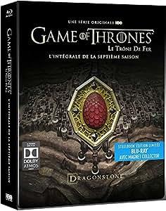 Game of Thrones – Saison 7 – Edition Limitée Steel-book Blu-Ray - Inclus un Contenu Exclusif et Inédit « Conquête & Rébellion - L'histoire des Sept Couronnes » [BLURAY]