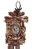 Original Schwarzwälder Kuckucksuhr aus Echtholz, mechanisches 8-Tage Laufwerk und VDS Zertifikat - Angebot von Uhren-Park Eble - Eble -Jagdstück 34cm- 28-21-12-80