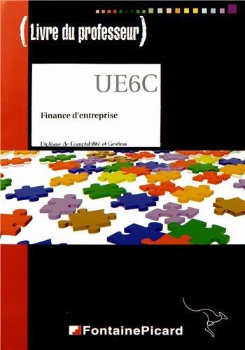 Finance d'entreprise DCG : Livre du professeur