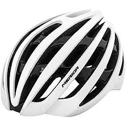 Merida bicicleta casco protector de Beetle Casco Protector de bicicleta casco, Weiß M