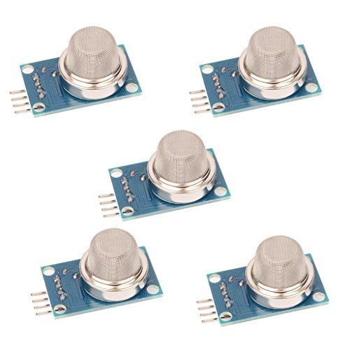 Q 2 MQ2 Rauchgas LPG Butan Methansensor Detektor Modul für Arduino ()