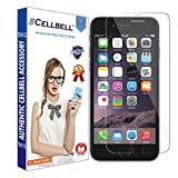 #9: CELLBELL Tempered Glass Screen Protector For Apple iPhone 6 6s With Installation Kit