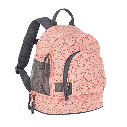 *LÄSSIG Kinderrucksack Kindergartentasche mit Brustgurt/Mini Backpack Spooky peach*