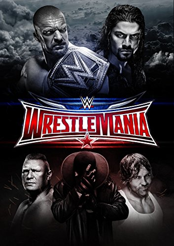 Wrestlemania 32 - WWE Wrestling Event Wall Poster Print - 43cm x 61cm / 17 Inches x 24 Inches A2 Wrestlemania 17 Dvd