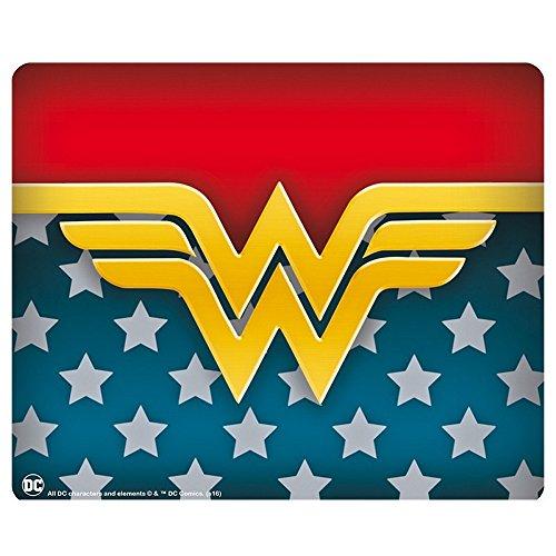 DC Comics - Wonder Woman - Mausmatte Mauspad - Logo - 23 x 19 cm (Pullover Studio Womens)