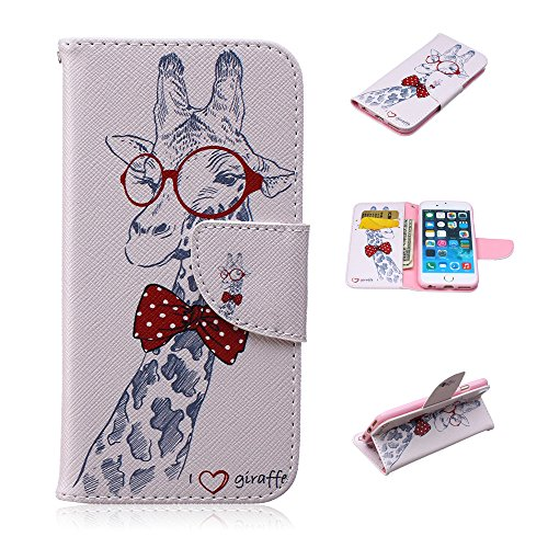 Nutbro iPhone 6S Case, iPhone 6 Wallet Case, [Stand Feature] with Built-in Credit Card Slots Case for Apple iPhone 6 / iPhone 6S 4.7 inch HX-iPhone-6S-38