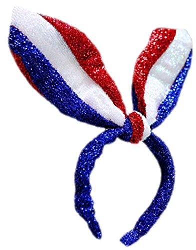 Niedliches Haarteil mit Hasenohren, Karneval, Fasching, Kostüm, One size, Mehrfarbig (Schnelle Halloween-kostüme Niedlich)