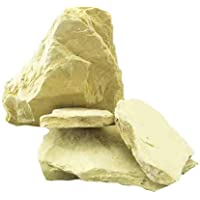 Livshine Natural Multani Mitti Stone Form (Fuller's Earth/Calcium Bentonite Clay) for Face Pack And Hair Pack (1 Kg)
