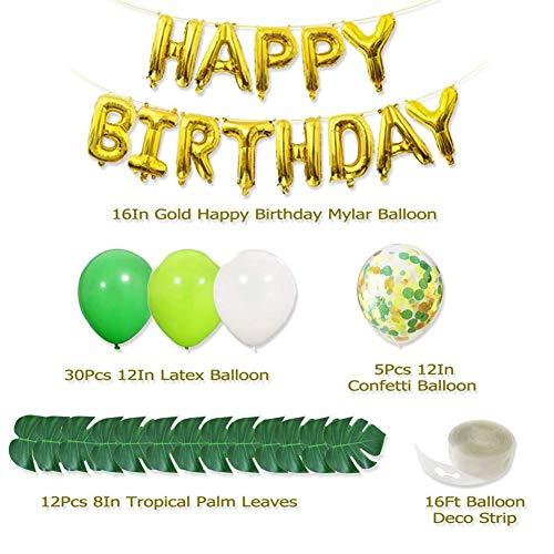 Dschungel-Thema-Partei-Dekorations-Ausrüstung, Geburtstagsfeier-Ballon-Dekoration für Geburtstagsfeier oder andere Parteiereignisdekorationen