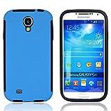 Roar Galaxy S4 Outdoor Hülle, 360 Grad Full Cover Schutzhülle, Premium Rundum Komplett Schutz für Samsung Galaxy S4, Blau