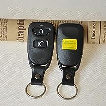 HuaYang 2 Botón Carcasa para HYUNDAI Accent para mando de Tuscon