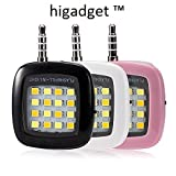 #7: higadget TM MINI Portable 16 LED Spotlight smartphone led flash fill light for iPhone and Android Devices for External Flash Fill Light Self (Mix color)