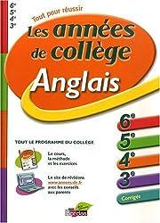 Anglais : Les années de collège