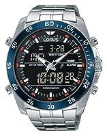 Relojes Lorus hombre-reloj analógico de cuarzo para acero inoxidable RW623AX9 de Lorus Watches