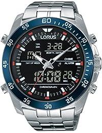 Lorus Watches Herren-Armbanduhr Sport Analog Quarz Edelstahl RW623AX9