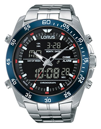 Lorus Watches Herrenuhr Analog Quarz mit Edelstahlarmband - RW623AX9