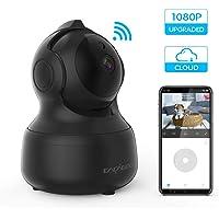 1080P FHD WLAN IP Kamera, CACAGOO Überwachungskamera mit Zwei-Wege-Audio, Bewegungserkennung, Nachtsicht, Monitor Baby,hundekamera