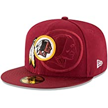 A NEW ERA Era NFL Sideline 59Fifty Wasred OTC Gorra Línea Washington Redskins de Tenis,