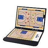 95street Basketball Taktiktafel Basketball Magnetische Coach-Board Taktikmappe Faltbare mit Stifte, Radiergummi, Magneten Basketball Trainingsgerät