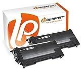 Bubprint 2 Toner kompatibel für Brother TN2000 TN-2000 für DCP-7010 DCP-7020 Fax 2820 2920 HL-2030 HL-2032 HL-2040 HL-2070N MFC-7420 MFC-7820N Schwarz