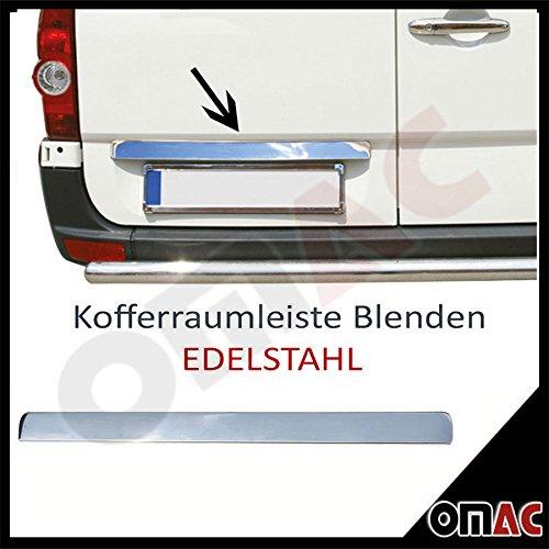 Kofferraumleiste Zierleiste Edelstahl Chrom Mercedes Sprinter W906 / VW Crafter (Mercedes Sprinter Oem-teile)