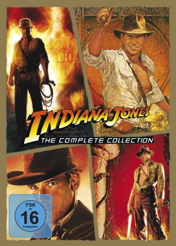 Indiana Jones - The Complete Collection [4 DVDs]