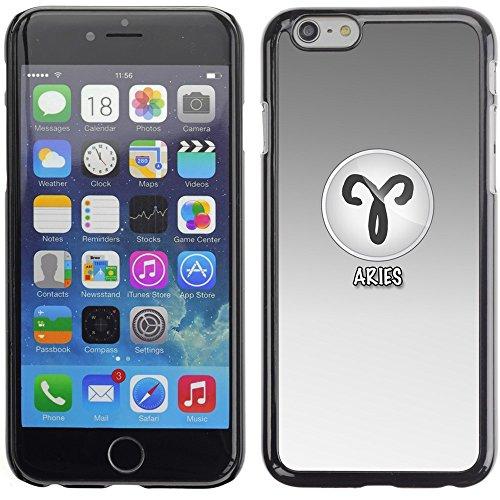 Graphic4You Gemini Zwillinge Horoskop Tierkreis Zeichen Design Harte Hülle Case Tasche Schutzhülle für Apple iPhone 6 Plus / 6S Plus Aries